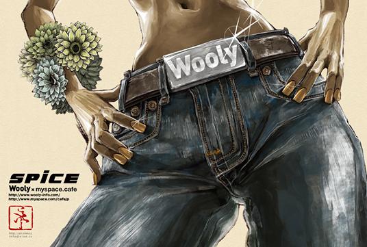 ストリートファッション イラストレーター 彩 | Wooly×MySpace.cafe EVENT SPICE