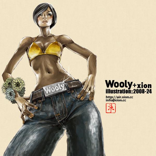 ストリートファッション イラストレーター 彩 | illustration 2008-24