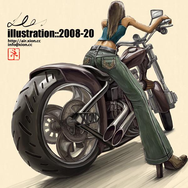 ストリートファッション イラストレーター 彩 | illustration 2008-20
