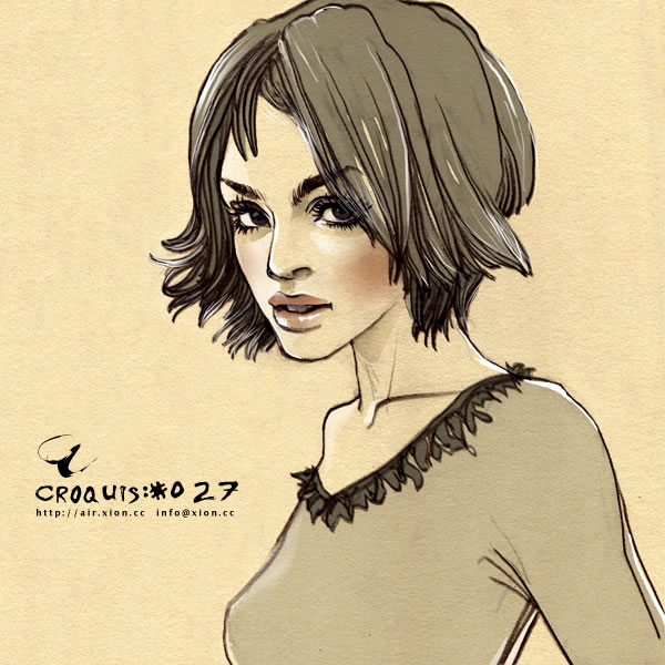 ストリートファッション イラストレーター 彩 | croquis:#027