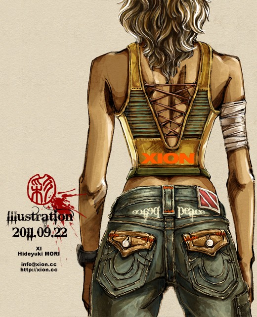 ストリートファッション イラストレーター 彩 | illustration 2011.09.22