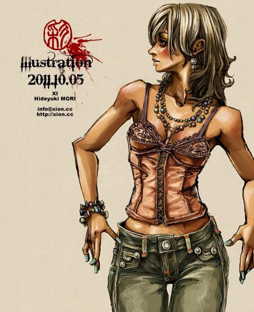 ストリートファッション イラストレーター 彩 | illustration 2011.10.05